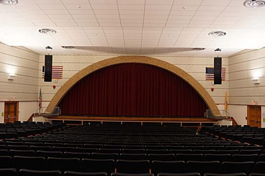 school auditorium sound system