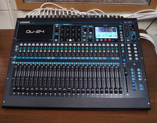 Allen and Heath digital mixer