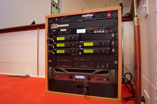 Church sound equipment
