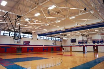 Triton High School Gymnasium Sound System