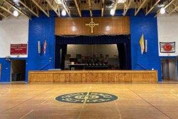 St. Monica School Gym Sound System