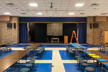 Woodruff Middle School Cafeteria Audio System