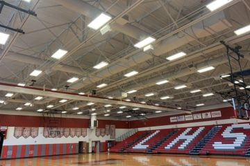 Lenape High School Gym Sound System