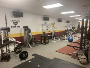 Weight Room Audio System